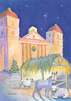 Silent Night, Old Mission Santa Barbara